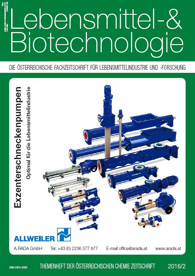 Lebensmittel- & Biotechnologie 02 2016