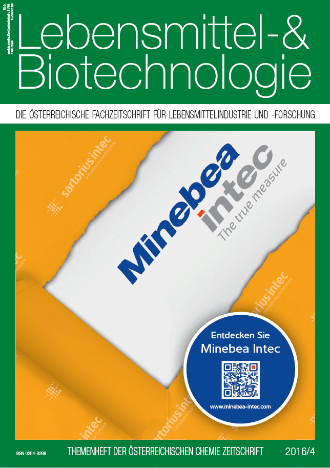 Lebensmittel- & Biotechnologie 04 2016