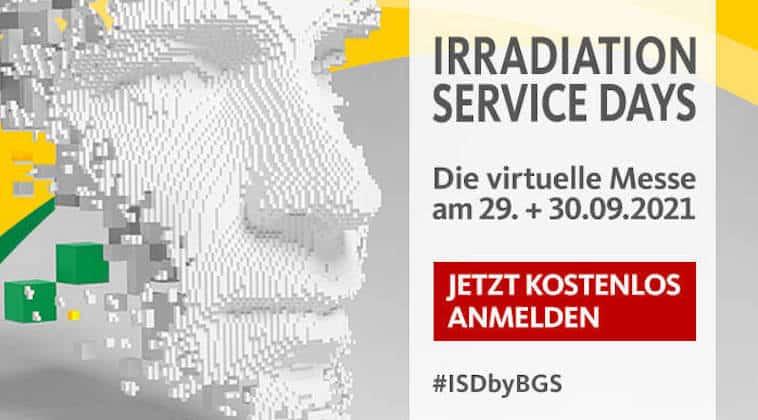 BGS Irradiation Service Days 2021   Grafik: BGS Irradiation Service Days