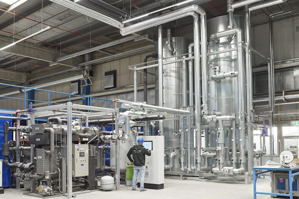 Die Stromversorgung der va-Q-tec Unternehmenszentrale und des Werks in Würzburg wird über ein hauseigenes Blockheizkraftwerk mit Strom versorgt. | Foto: va-Q-tec