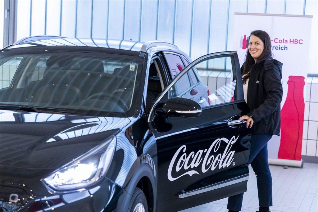 Coca-Cola HBC Österreich Außendienstmitarbeiterin Michaela Steigberger | Foto: Coca-Cola HBC / Martin Steiger