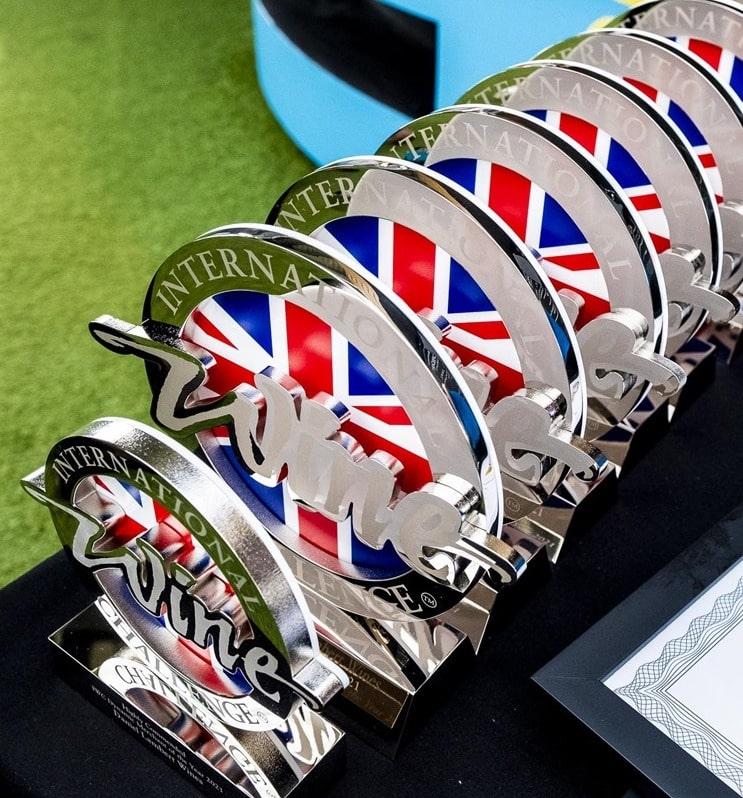 WINZER KREMS gewinnt die Austrian White Trophy der IWC 2021 in London   Foto: IWC