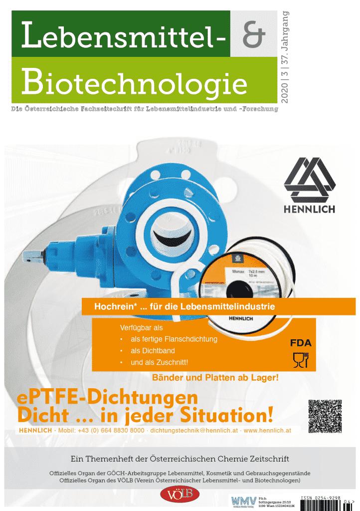 Lebensmittel-&Biotechnologie 2020 03 - Welkin Media Verlag