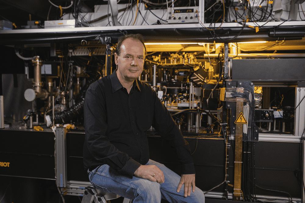 Rudolf Grimm vom Innsbrucker Institut für Quantenoptik und Quanteninformation der Österreichischen Akademie der Wissenschaften (ÖAW) erhält einen ERC Advanced Grant. | Foto: target group/Franz Oss