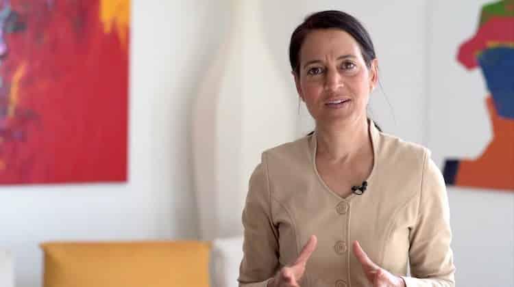 Sabia Schwarzer übernimmt mit Jänner 2022 die Leitung Group Communications, Brand und Corporate Affairs bei Merck | Foto: Merck