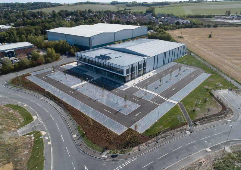 Global Centre of Excellence für Röntgeninspektion am britischen Standort Royston.   Foto: Mettler Toledo