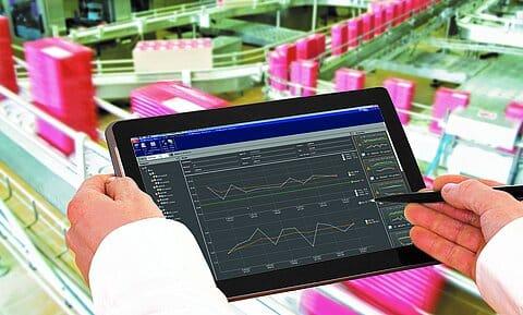 Software SPC@Enterprise   Foto: Minebea Intec