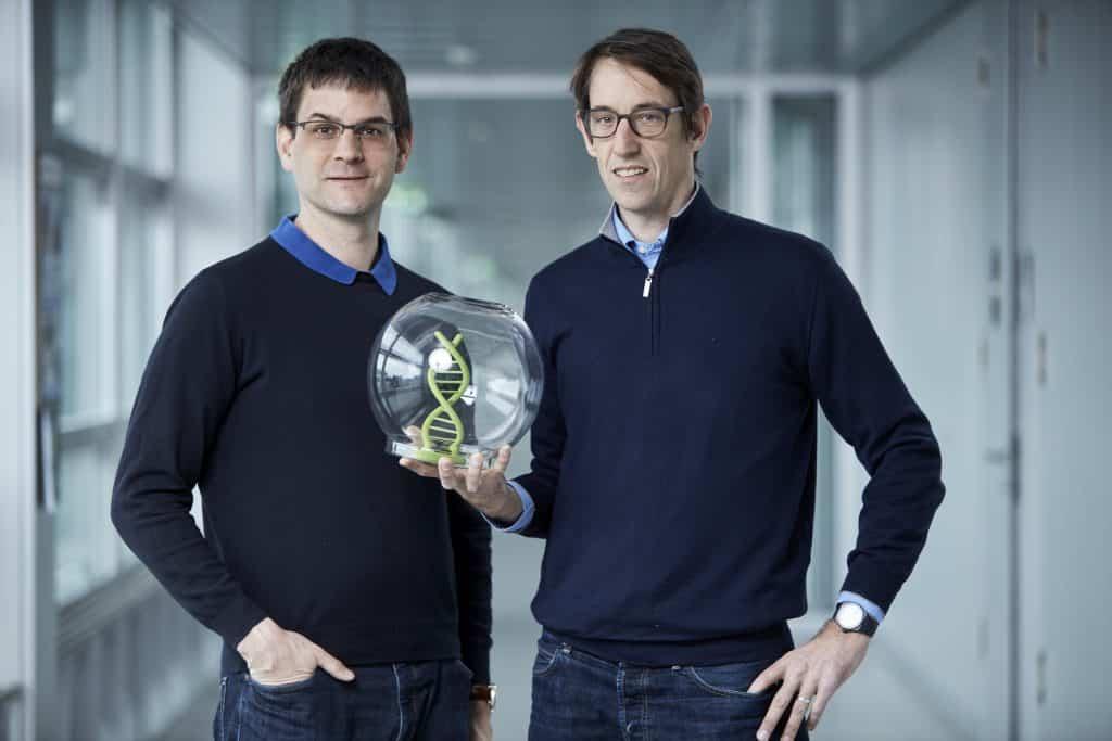 DNA-basierte Datenspeicherung; Wendelin Stark (Schweiz) und Robert N. Grass (Österreich) | Foto: EPO