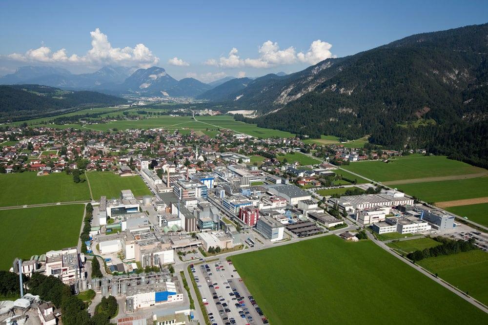 Life-Science-Park: Novartis öffnet seinen Campus Kundl/Schaftenau und etabliert einen attraktiven Forschungs- und Produktionsstandort für Firmen aus dem Bereich Life Sciences   Foto: Novartis