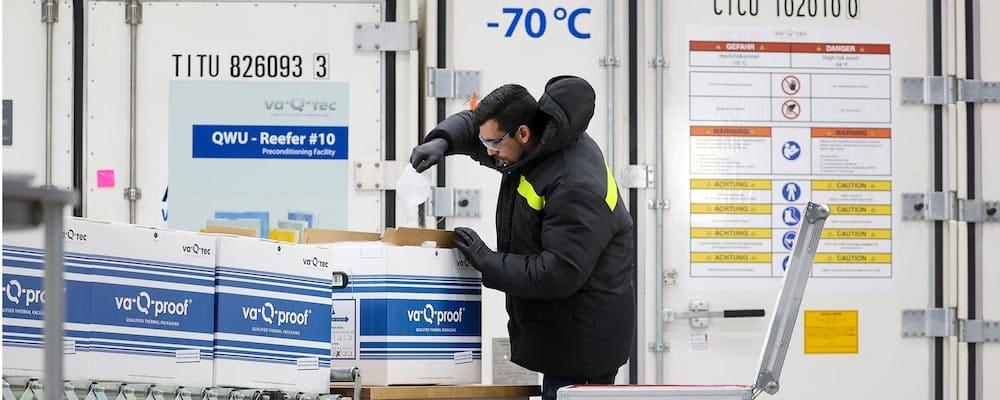 va-Q-tec Transportlösungen bieten die Antwort auf die Herausforderungen der globalen Impfstoff-Distribution. | Foto: va-Q-tec